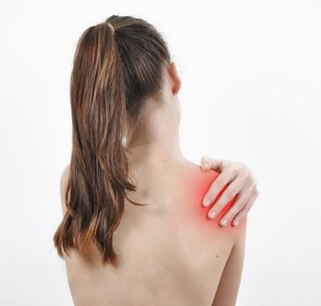 shoulder pain,likely from torn rotator cuff tendons