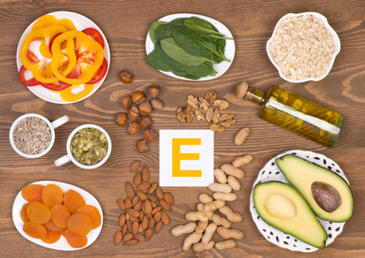 Vitamin E foods for osteoarthritis treatment